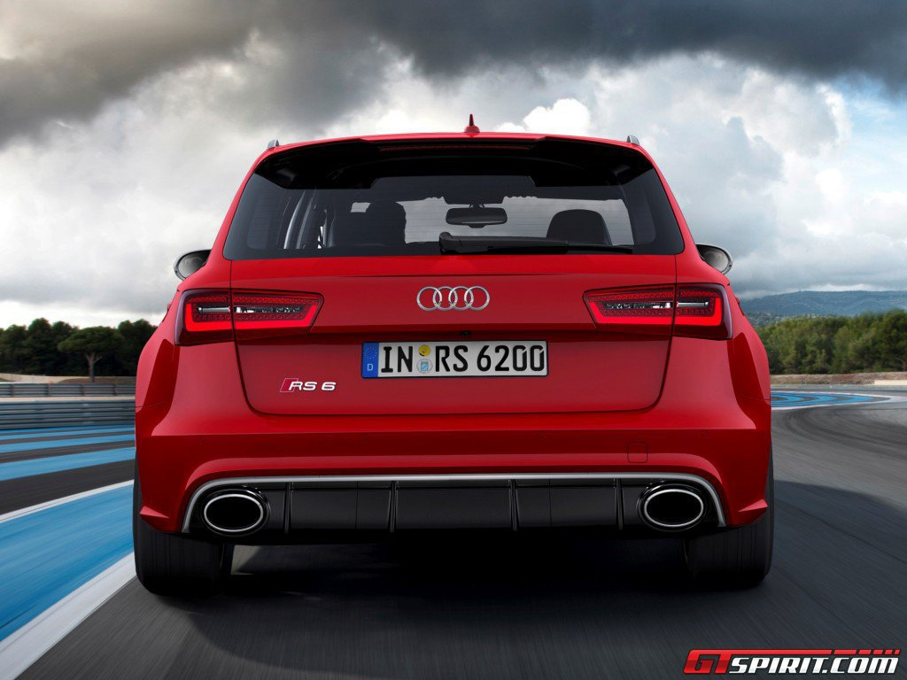 2014 Audi RS6 Avant Leaked Photo 5