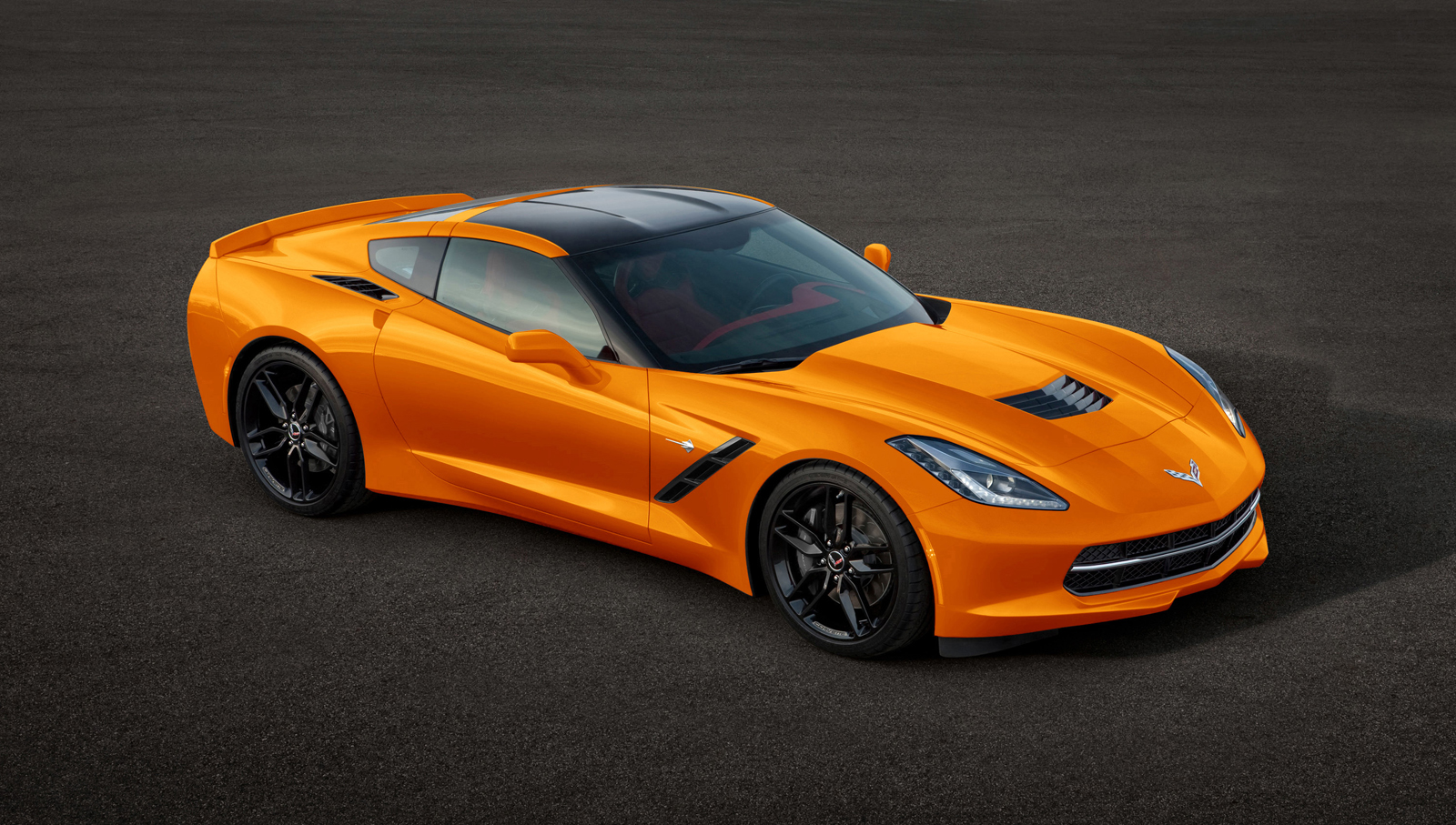 2014 Corvette  amp  Corvette StingrayCorvette Stingray 2014 Orange