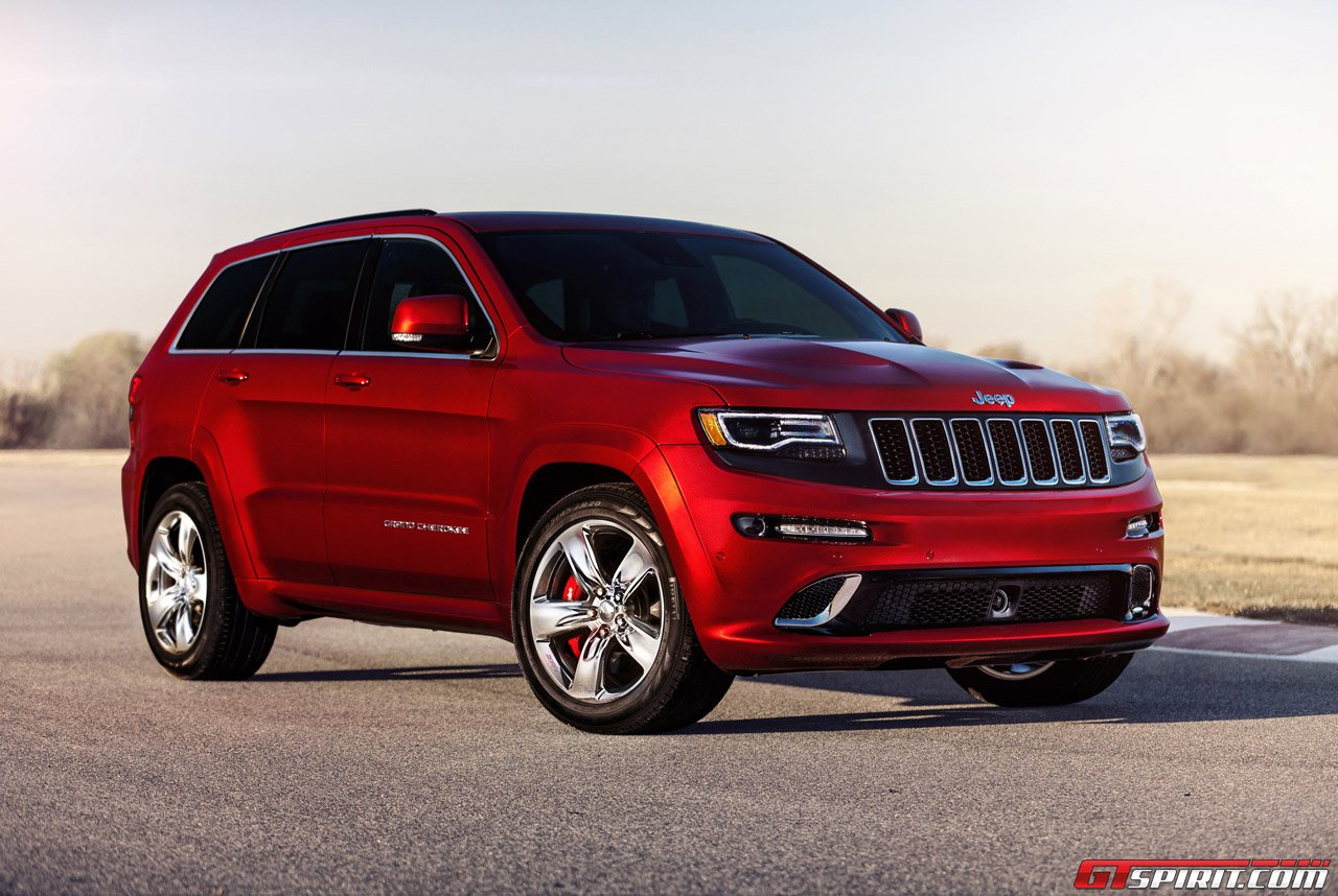 official: 2014 jeep grand cherokee srt8 - gtspirit