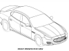 2014 Maserati Quattroporte Patent Drawings