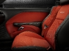 2015 Dodge Challenger SRT Alcantara Ruby Red suede leather