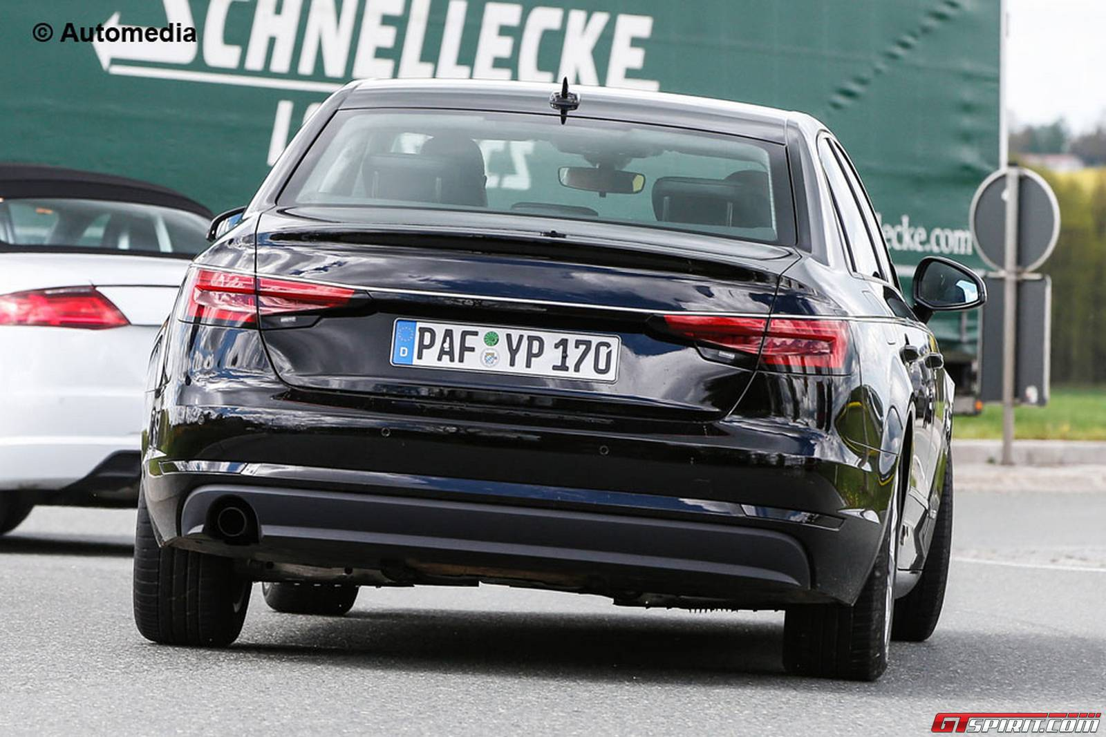 2017 Audi A4 Spy Shots w/ Very Little Camo - AudiWorld Forums