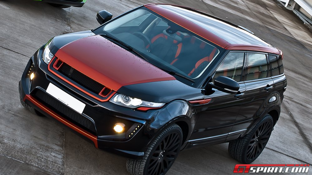 2012 project kahn range rover evoque rs250 vesuvius dark cars wallpapers. Black Bedroom Furniture Sets. Home Design Ideas