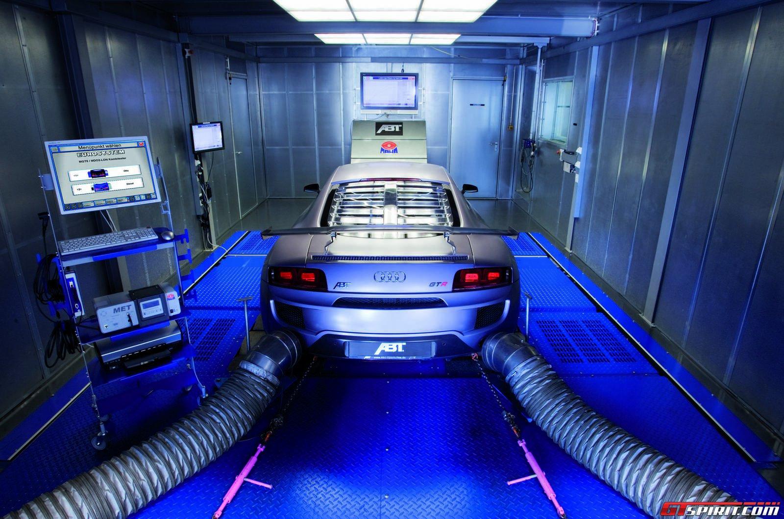 Audi R8 на стенде ABT Sportsline