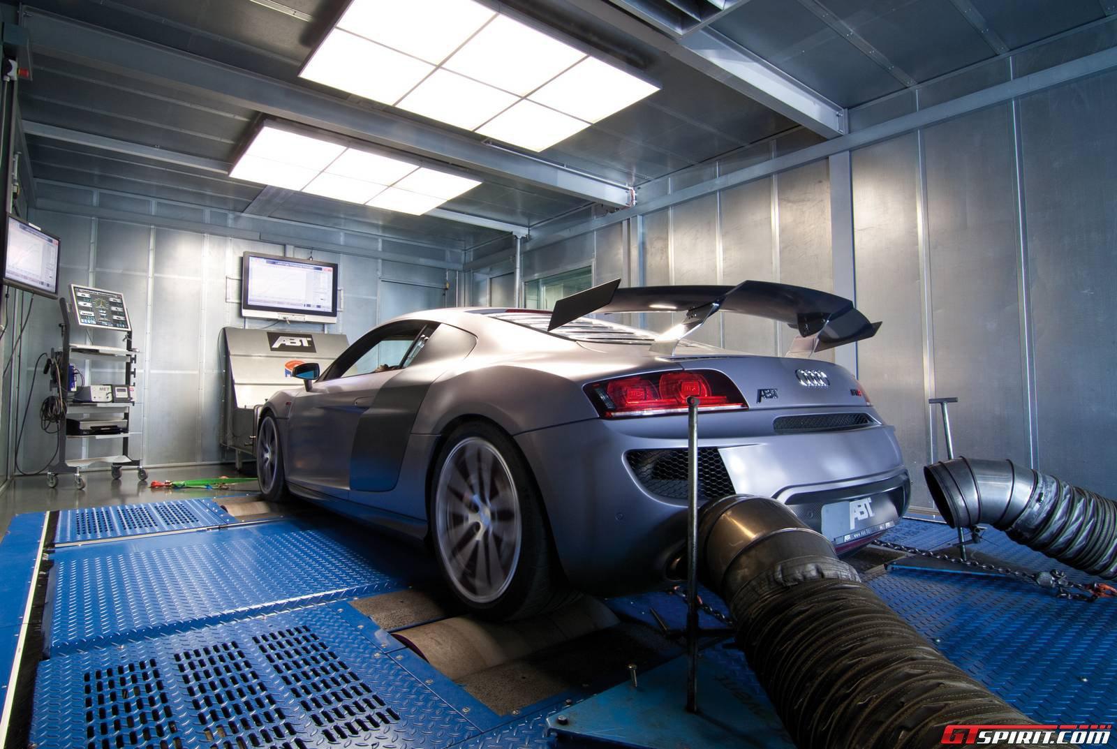 Audi R8 в боксах ABT Sportsline