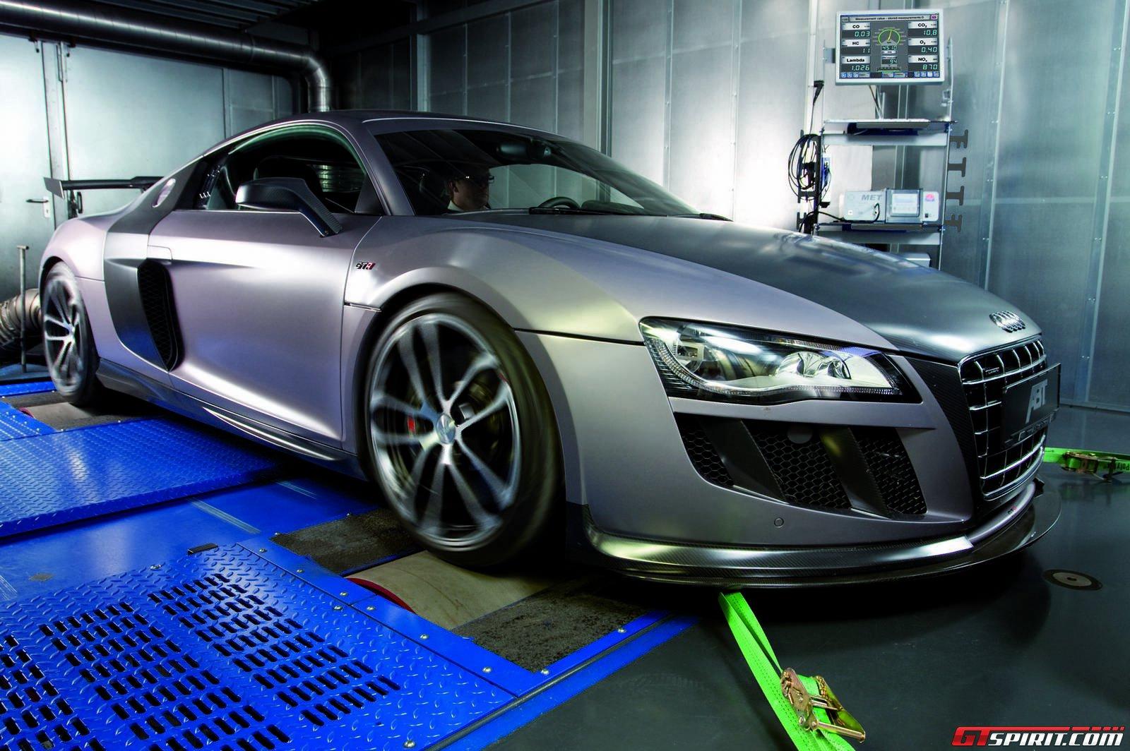 Audi R8 в гараже ABT Sportsline