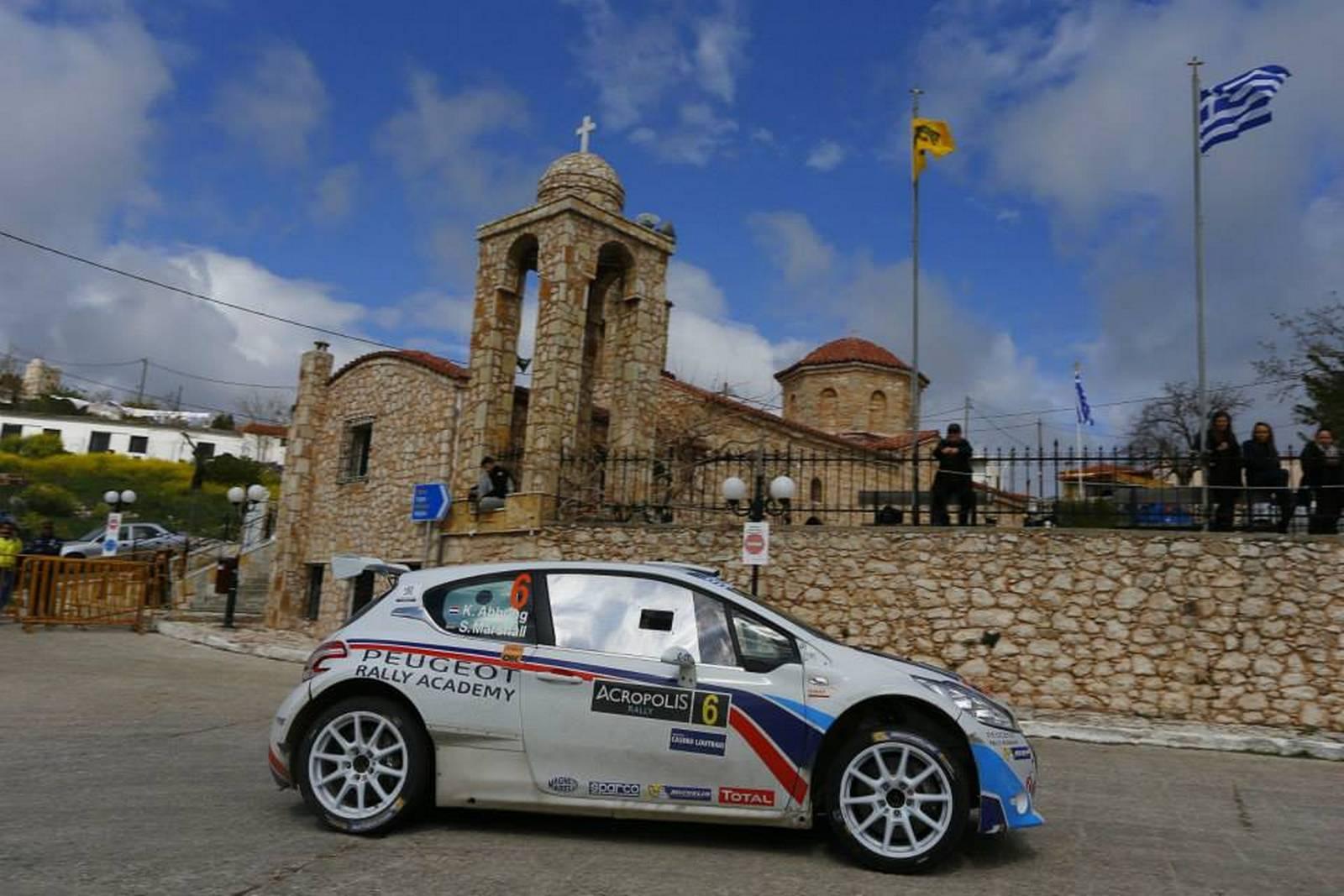Peugeot 208 T16 Craig Breen- Scott Martin Rally Acropolis 2014 1//43