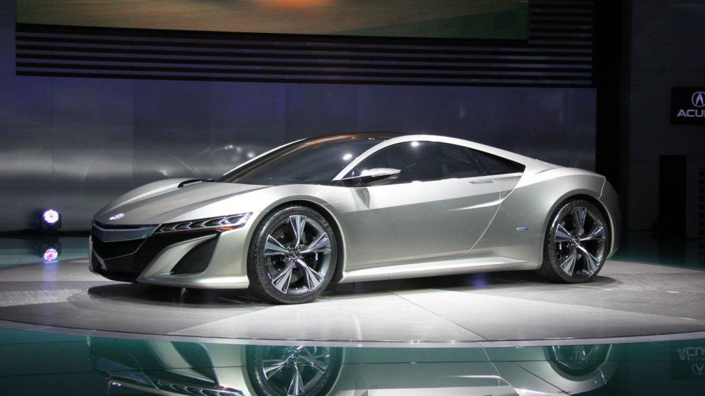 Acura NSX Hybrid Concept Photo 3