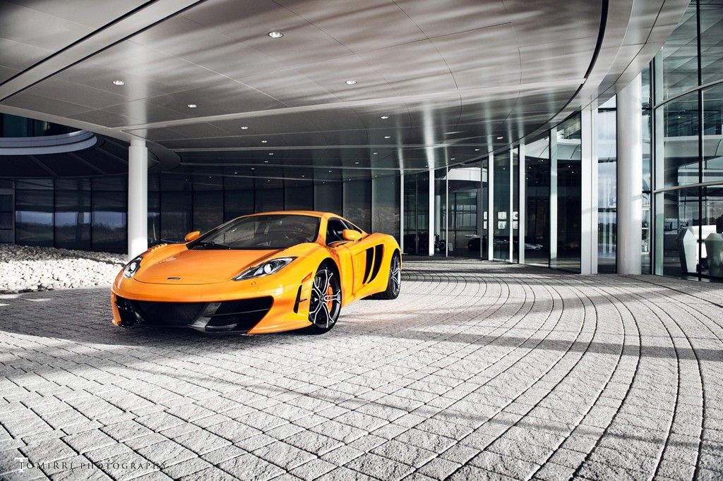 All Five McLaren MP4-12C High Sport Editions in One Photo Shoot 002