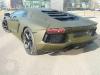Army Green Lamborghini Aventador LP700-4