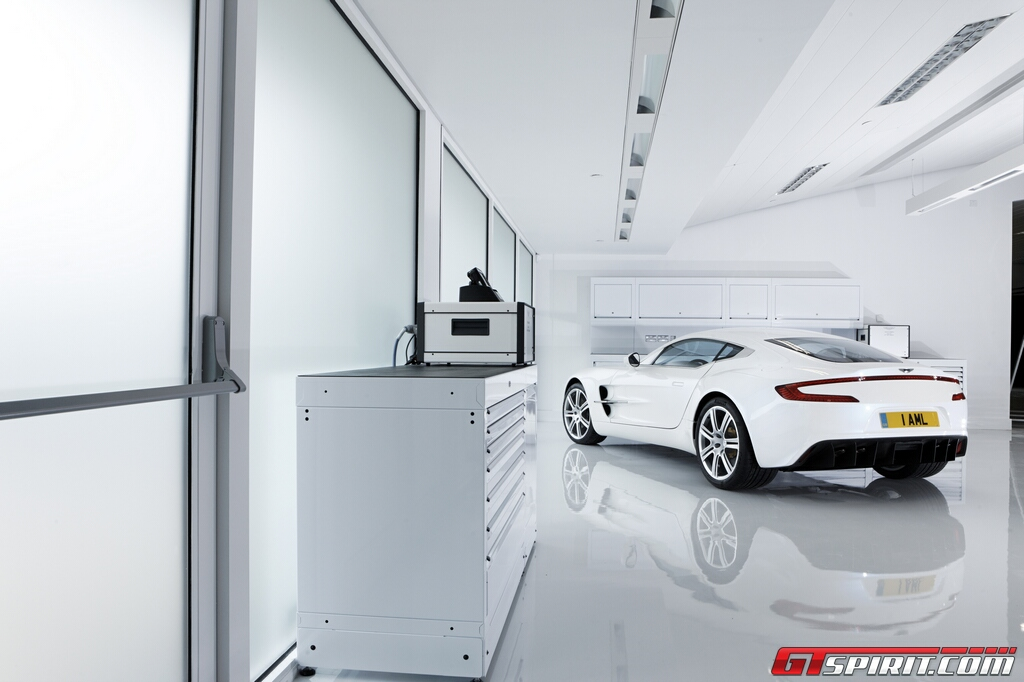 Aston Martin One-77 on National Geographics Megafactories