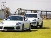 Porsche escorted