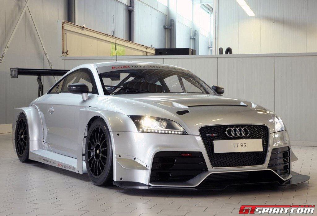 Audi Tt Rs Race Car Goes On Sale Gtspirit