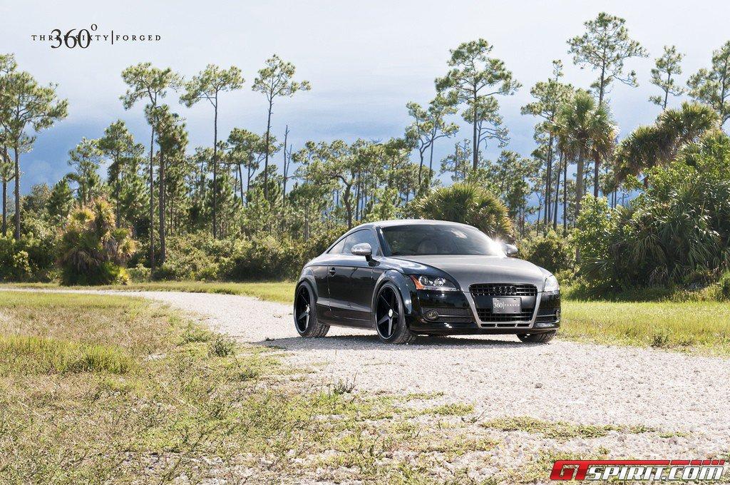 2012 360 Forged Audi Tt Dark Cars Wallpapers