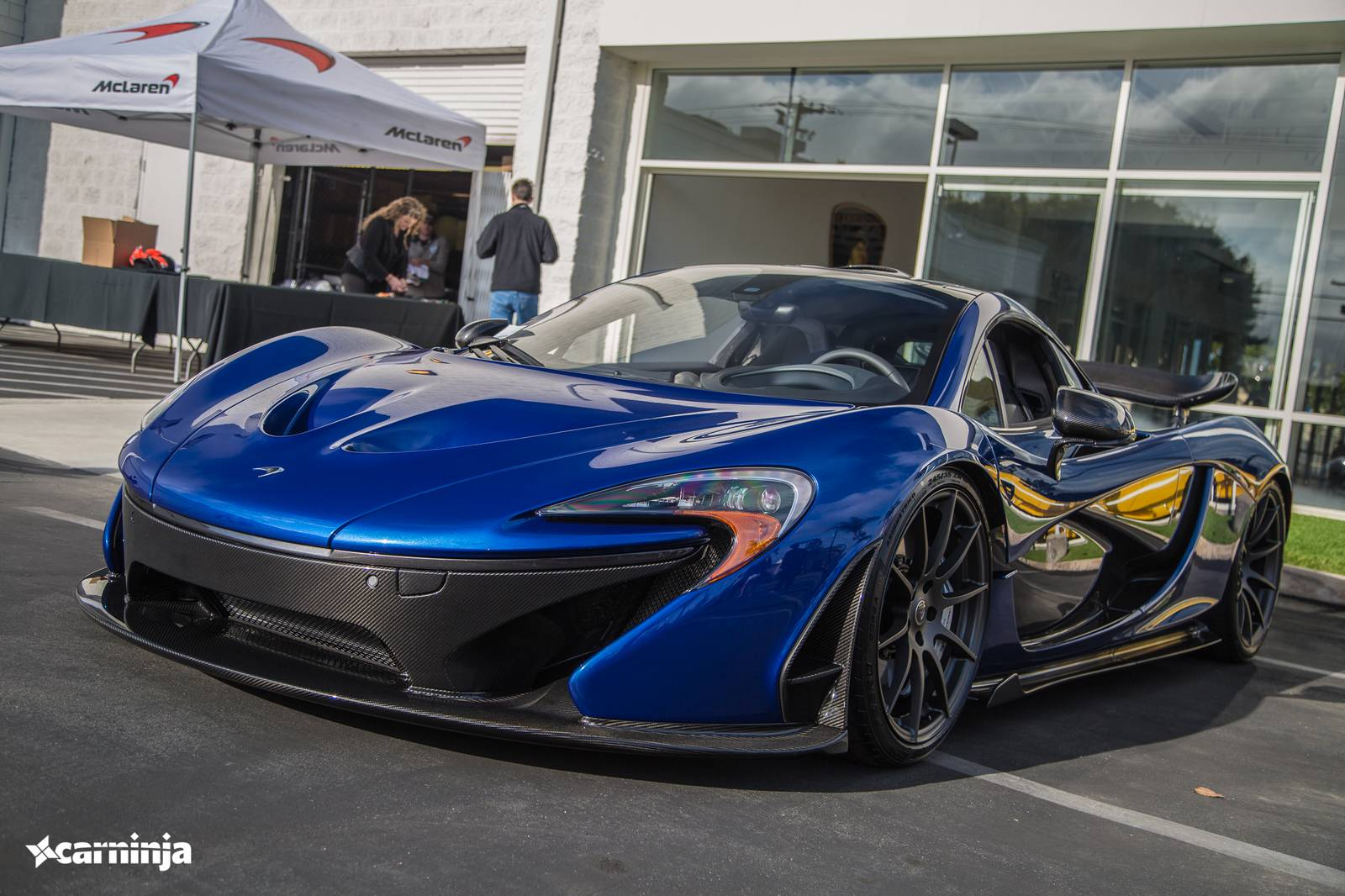 blue mclaren p1 wallpaper - photo #37