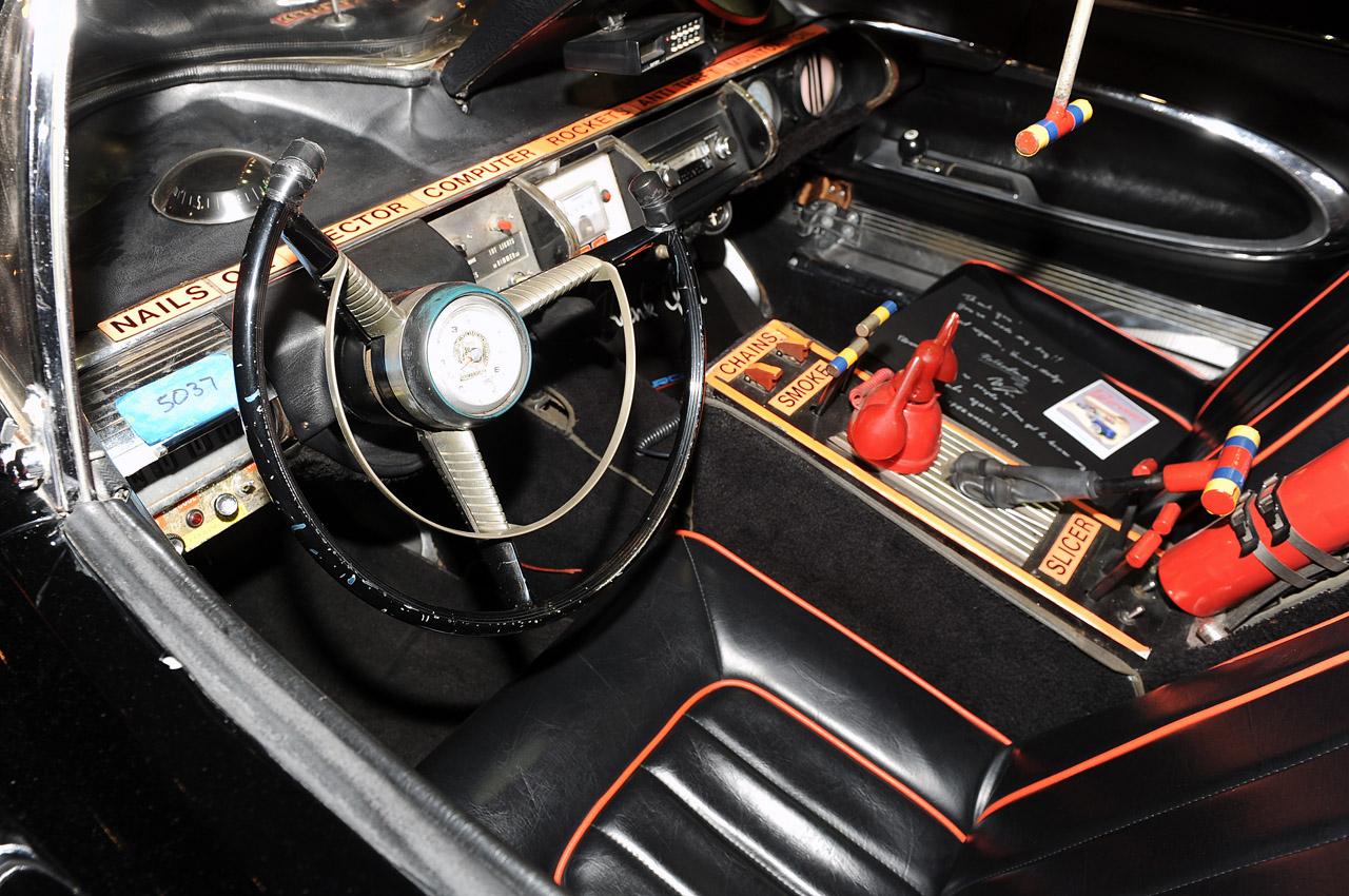 Original Batmobile Interior www.galleryhip.com - The Hippest Pics