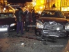 Bentley Continental Flying Spur Wrecks 9 Cars