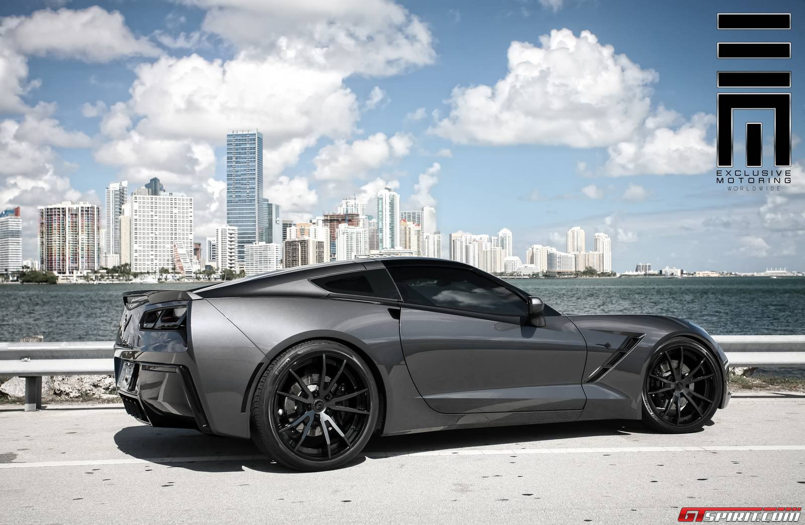httpwwwgtspiritcomwp contentgstingray 6jpg name imageuploadedbycorvette stingray forum1408843899057319jpg - 2015 Corvette Stingray Matte Black