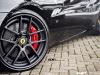 Black Ferrari California with ADV5.0 Track Spec Wheels