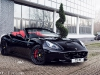Black Ferrari California with ADV5.0 Track Spec Wheels