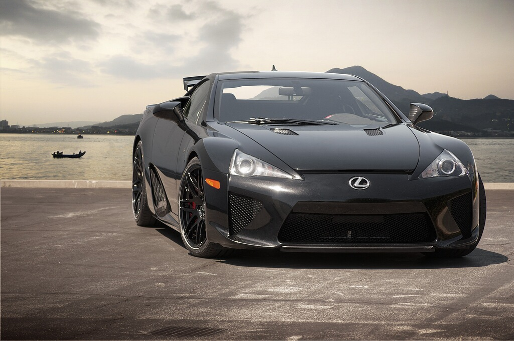 lexus lfa black wallpaper. lexus lfa black wallpaper the best car pictures online check out