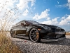 Black Nissan GT-R on 21 inch Vellano Forged Wheels