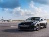 Black Nissan GT-R on ADV15 Track Spec Wheels