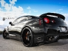 Black on Black Nissan GT R with Strasse Forged Wheels