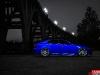 Blue Lexus IS with 20 inch CV7 Vossen Wheels