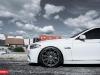 BMW 5-Series on 20 Inch CV4 Vossen Wheels