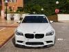 BMW F10M M5 on ADV7 Track Spec Wheels