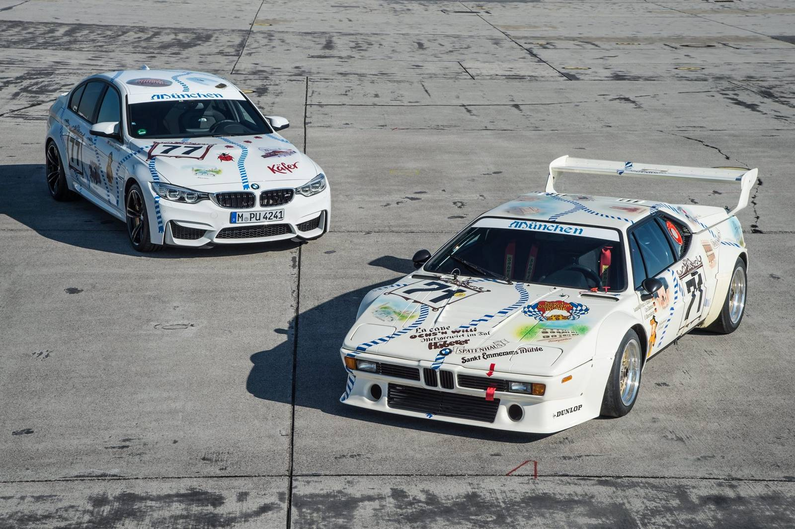 BMW M3 Meets Legendary BMW M1 at Oktoberfest - GTspirit