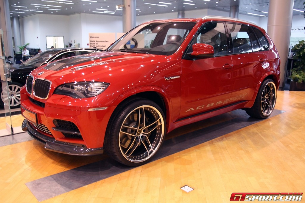 Bmw X6 M And X5 M By Ac Schnitzer