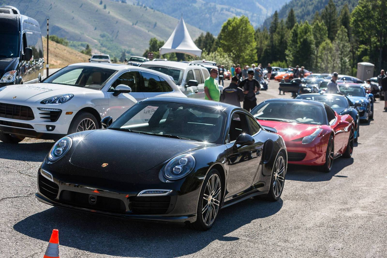 Фото | Porsche 911 на Sun Valley Road Rally 2014