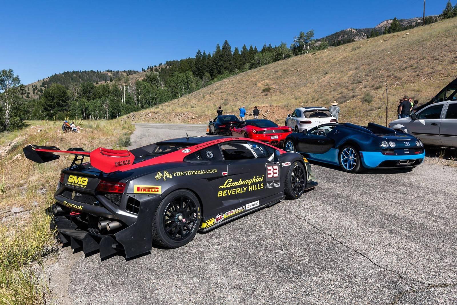 Фото | Гоночный Lamborghini Gallardo на Sun Valley Road Rally 2014