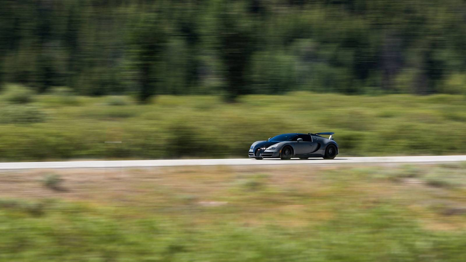Фото | Bugatti Veyron на Sun Valley Road Rally 2014