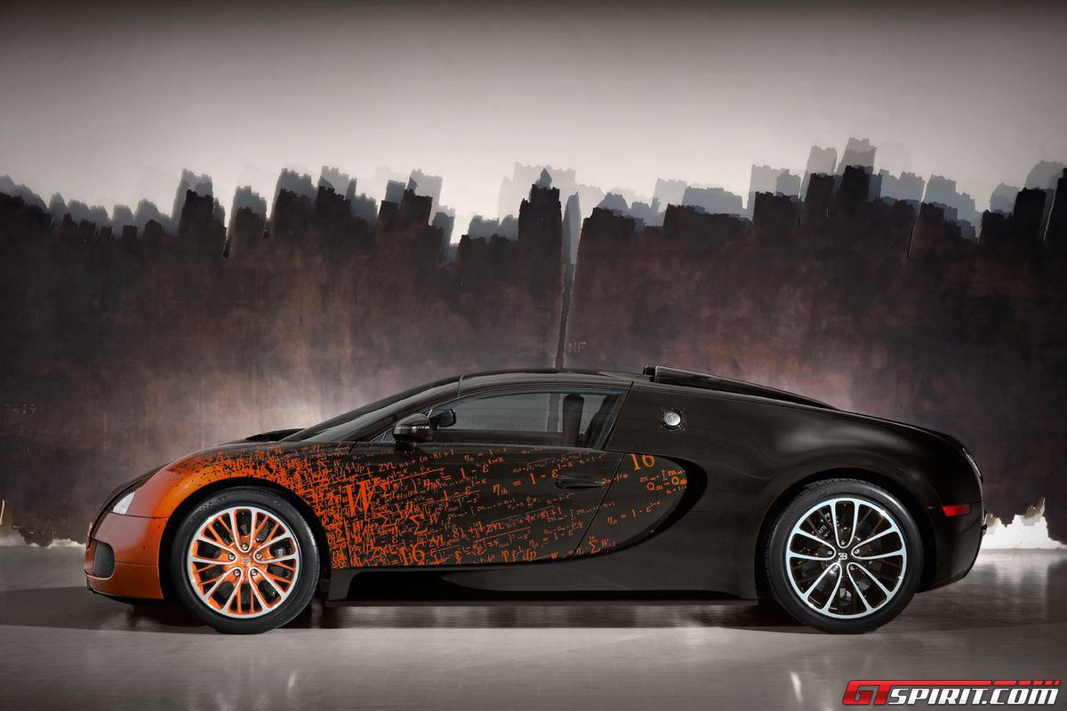 Bugatti Veyron Grand Sport by Bernar Venet Photo 10