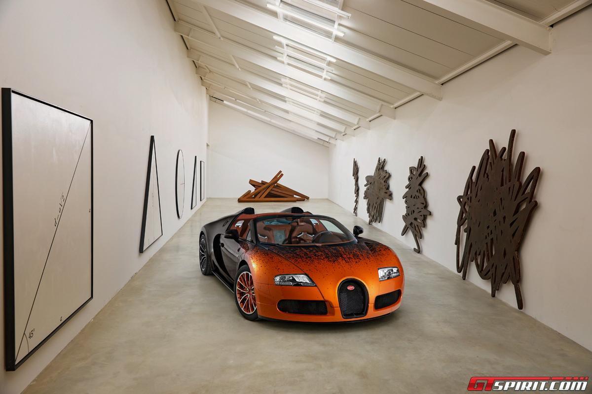 Bugatti Veyron Grand Sport by Bernar Venet Photo 1