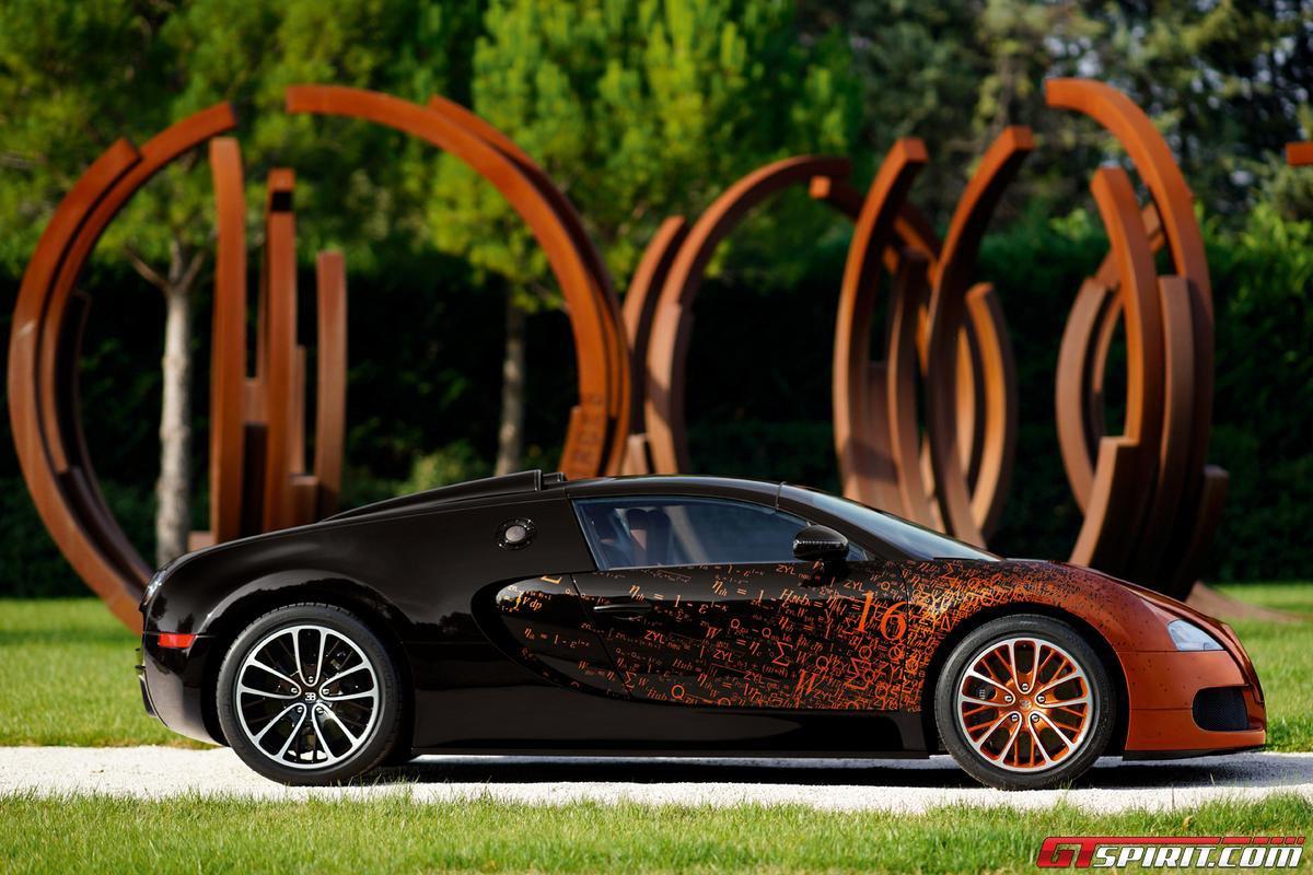 Bugatti Veyron Grand Sport by Bernar Venet Photo 11