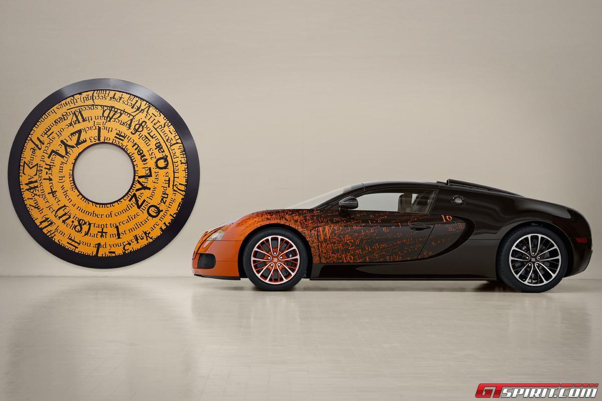 Bugatti Veyron Grand Sport by Bernar Venet Photo 6