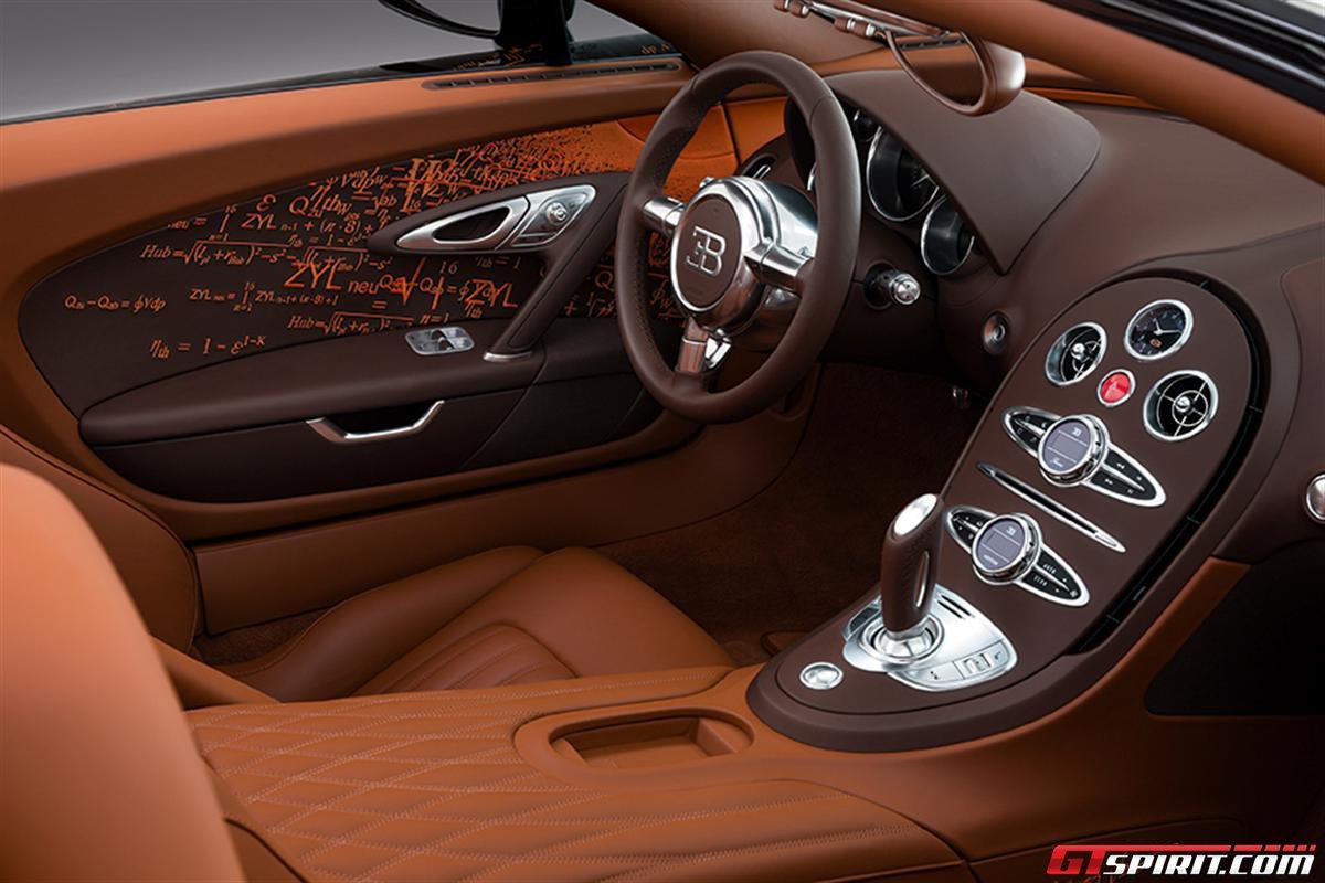 Bugatti Veyron Grand Sport by Bernar Venet Photo 16