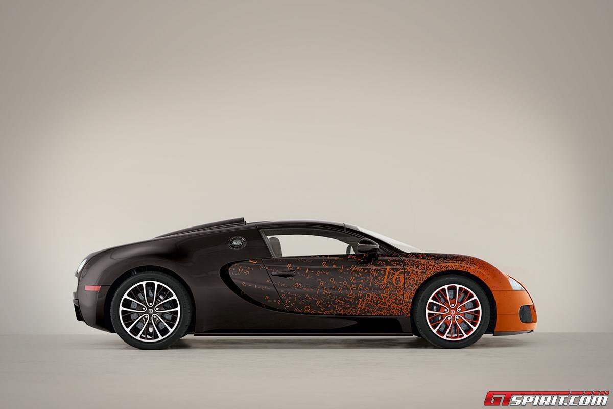 Bugatti Veyron Grand Sport by Bernar Venet Photo 5
