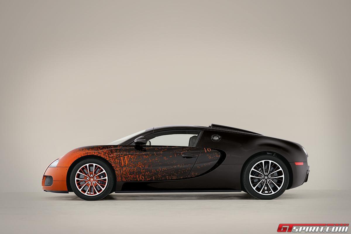 Bugatti Veyron Grand Sport by Bernar Venet Photo 4
