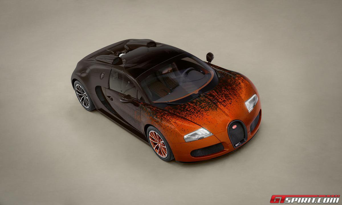 Bugatti Veyron Grand Sport by Bernar Venet Photo 3