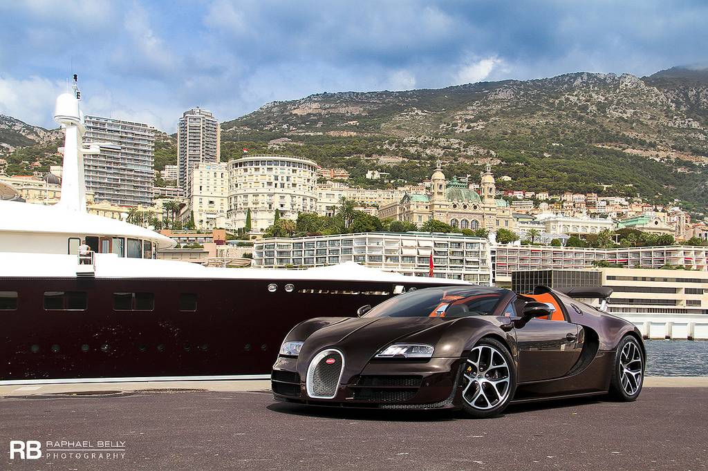 photo of the day bugatti veyron grand sport vitesse in monaco. Black Bedroom Furniture Sets. Home Design Ideas