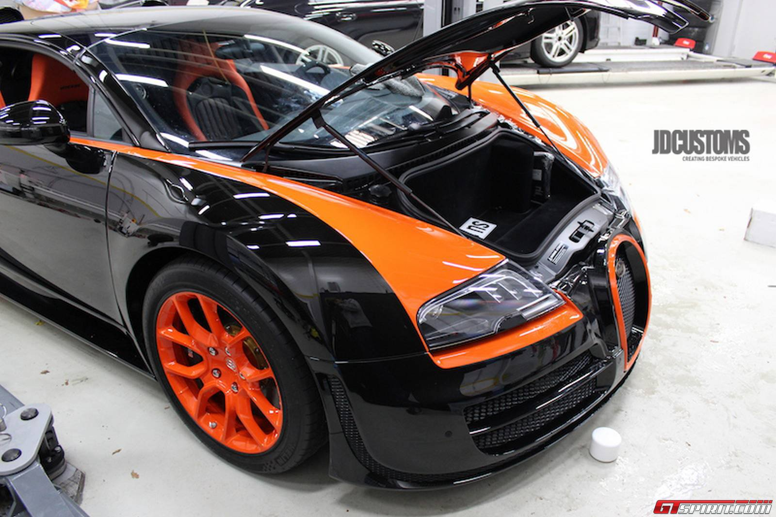bugatti veyron grand sport vitesse wrc edition at jd customs. Black Bedroom Furniture Sets. Home Design Ideas