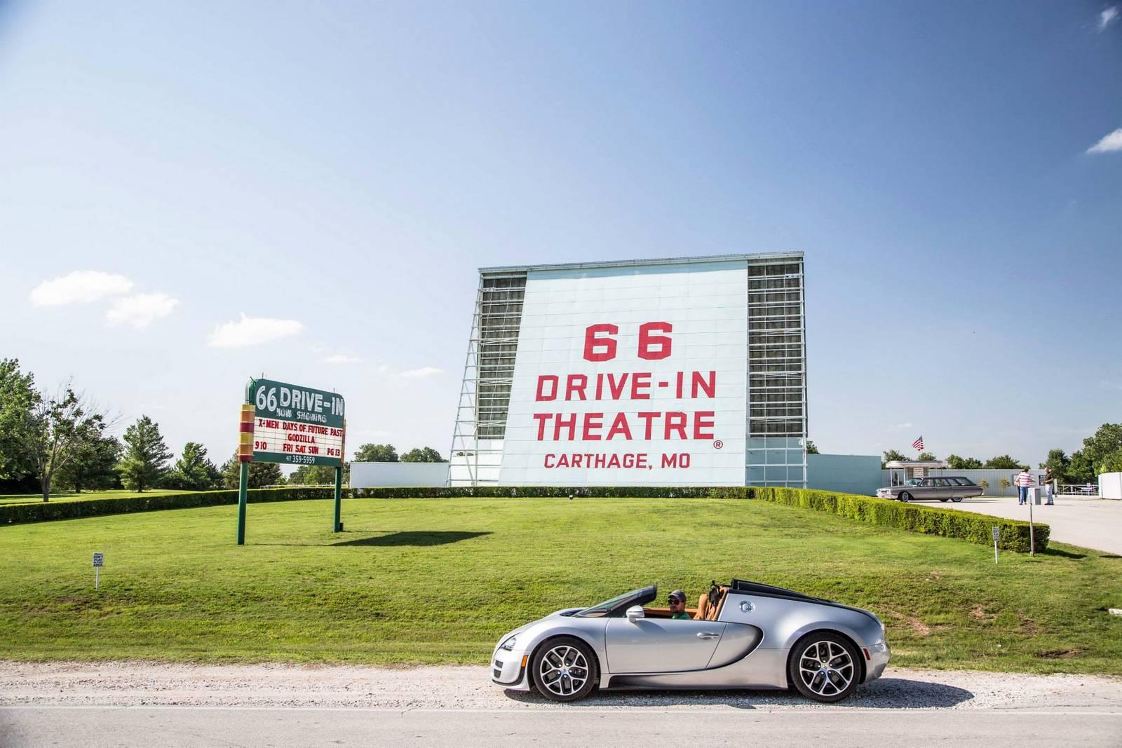Фото | Bugatti Veyron Grand Sport Vitesse на Шоссе 66 в США