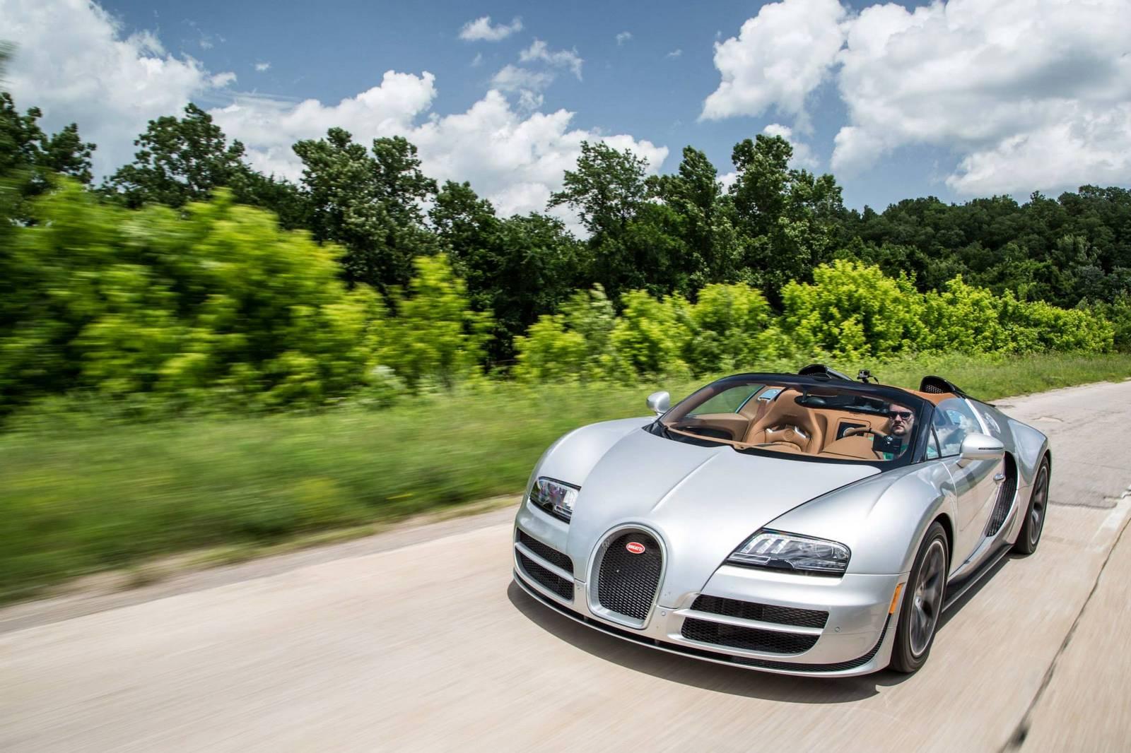 Фото | На шоссе Bugatti Veyron Grand Sport Vitesse