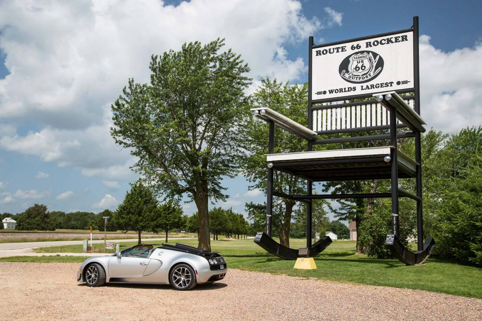 Фото | Bugatti Veyron Grand Sport Vitesse на Шоссе 66