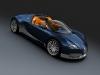 Bugatti Veyron Grand Sport Blue Carbon Aluminum